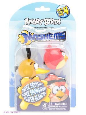 Игровой набор Сердитые Птички, ANGRY BIRDS. Цвет: красный, желтый
