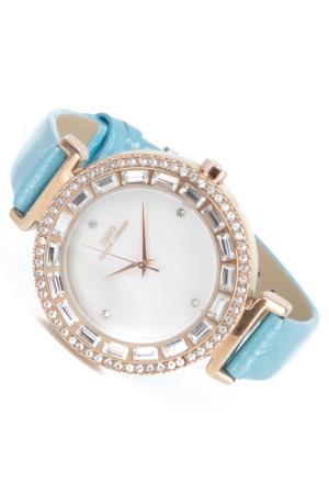 Часы на ремне IBSO. Цвет: золотистый, голубой
