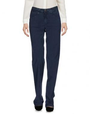 Повседневные брюки CARLO CHIONNA. Цвет: грифельно-синий