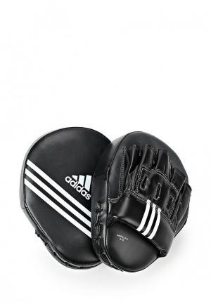 Лапы adidas Combat. Цвет: черный