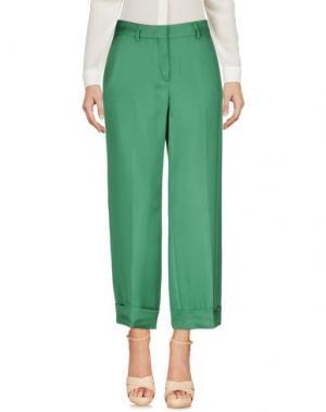 Повседневные брюки TRUE ROYAL. Цвет: зеленый