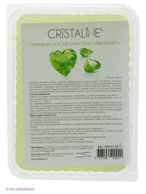 Парафин косметический Эвкалипт 450 мл Cristaline. Цвет: зеленый
