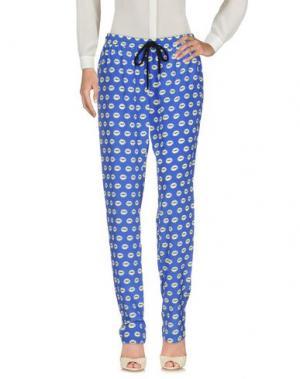 Повседневные брюки MARKUS LUPFER. Цвет: ярко-синий
