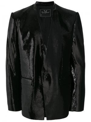 Пиджак с пайетками Unconditional. Цвет: чёрный