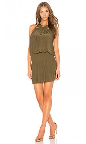 Платье fiona RAMY BROOK. Цвет: зеленый