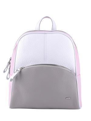 Рюкзак Esse. Цвет: серый, белый, розовый