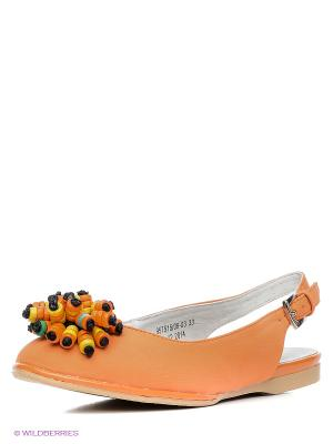 Балетки Betsy. Цвет: оранжевый