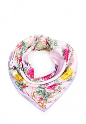 Платок Модные истории. Цвет: розовый