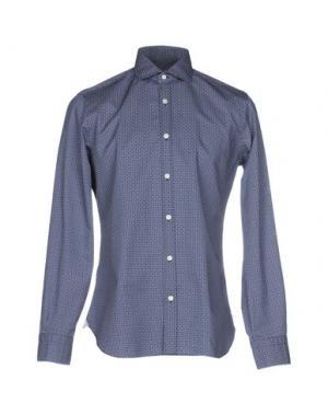 Pубашка DANDYLIFE BY BARBA. Цвет: темно-синий