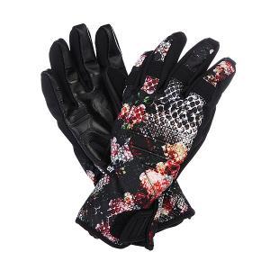 Перчатки сноубордические женские  Digger Snake/Life Neff. Цвет: черный,розовый