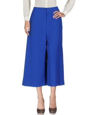 Повседневные брюки NORA BARTH. Цвет: ярко-синий