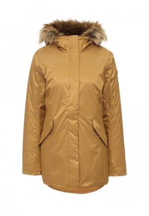Куртка утепленная Helly Hansen. Цвет: коричневый