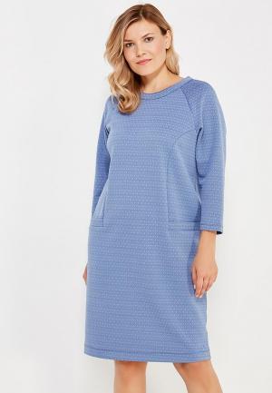 Платье Vis-a-Vis. Цвет: голубой