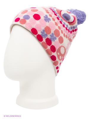 Шапка Maxval. Цвет: сиреневый, молочный, бледно-розовый, фуксия, светло-коралловый