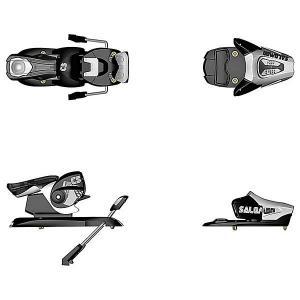 Крепления для лыж  N C5 Easytrak B85 Black/White Salomon. Цвет: черный,серый
