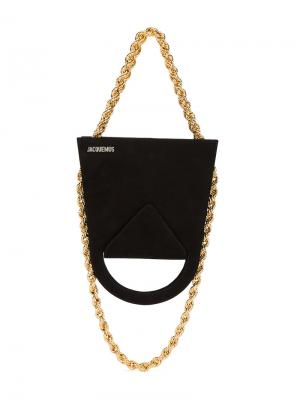 Le Sac A LEnver Upside Down Bag Jacquemus. Цвет: чёрный