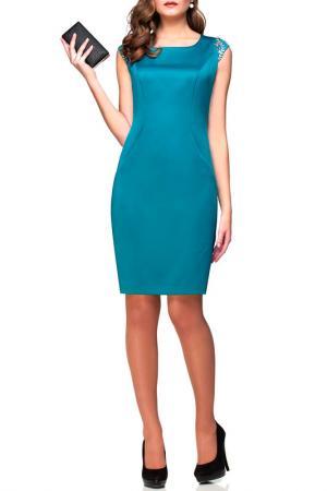 Платье PANDA. Цвет: зеленый