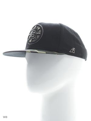 Бейсболка NHL  Bruins Atributika & Club. Цвет: черный