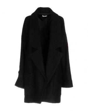 Пальто LIST. Цвет: черный
