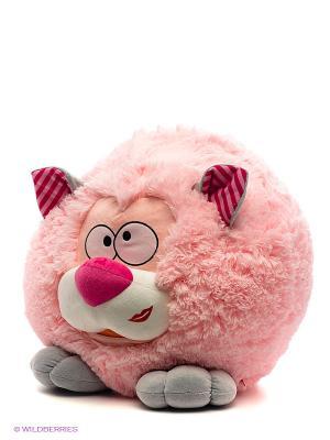 Круглик котик Fancy. Цвет: розовый