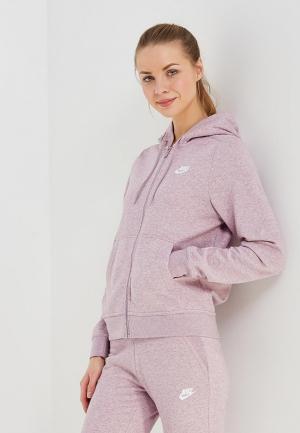Толстовка Nike. Цвет: розовый