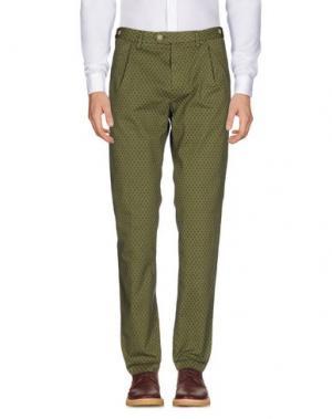 Повседневные брюки JEY COLE MAN. Цвет: зеленый-милитари