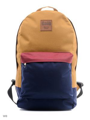Рюкзак Gaib. Цвет: оранжевый, темно-синий