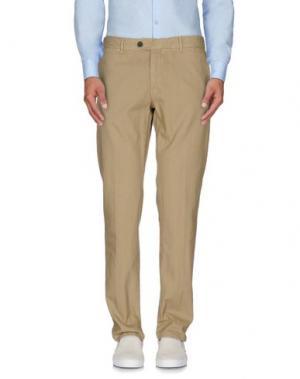 Повседневные брюки REDS. Цвет: песочный