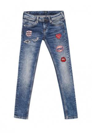 Джинсы Pepe Jeans. Цвет: синий