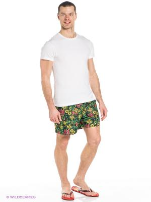 Шорты Flow Hawaiian Mens Shorts Nike. Цвет: зеленый, желтый, розовый