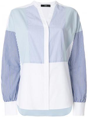 Рубашка в полоску Steffen Schraut. Цвет: синий