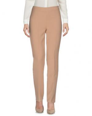Повседневные брюки 1-ONE. Цвет: песочный