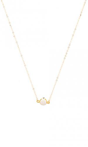 Ожерелье sonia Mimi & Lu. Цвет: металлический золотой