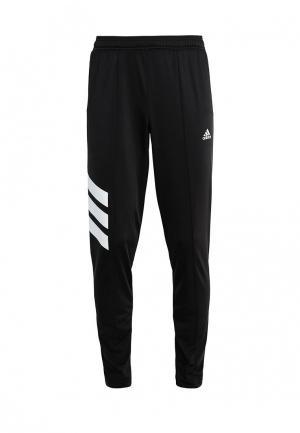 Брюки спортивные adidas Performance. Цвет: черный