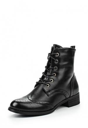 Ботинки Moda GY. Цвет: черный