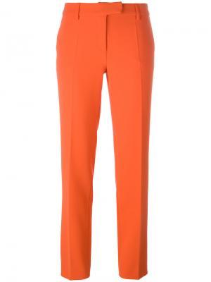Укороченные брюки Boutique Moschino. Цвет: жёлтый и оранжевый