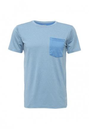 Футболка CLWR. Цвет: голубой
