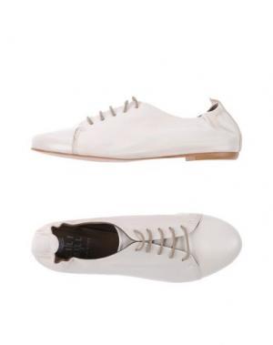Обувь на шнурках LILIMILL. Цвет: слоновая кость