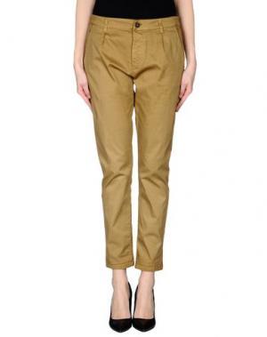 Повседневные брюки MACCHIA J. Цвет: верблюжий