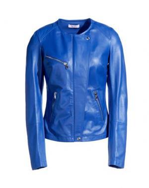 Куртка GEORGE J. LOVE. Цвет: синий