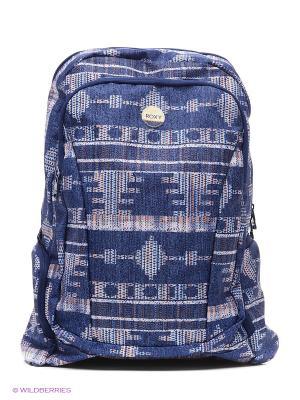 Рюкзак ROXY. Цвет: лиловый, синий