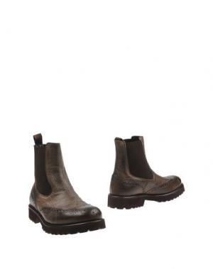 Полусапоги и высокие ботинки SEBOY'S. Цвет: хаки