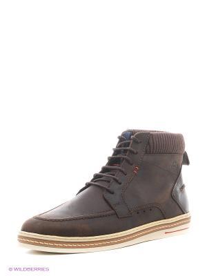 Ботинки TBS. Цвет: коричневый