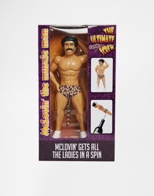 50FIFTY Штопор Muscle Man McLovin. Цвет: мульти