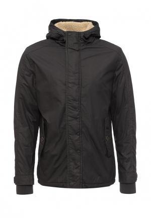 Куртка утепленная Vanzeer. Цвет: серый