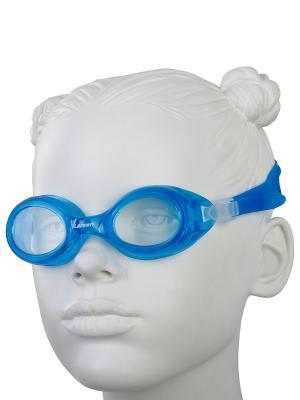 Очки плавательные детские DS7 Larsen. Цвет: голубой