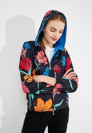 Куртка EA7. Цвет: разноцветный
