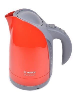 Чайник Bosch TWK6004 1.7л. 2400Вт. Цвет: красный