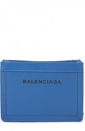 Сумка Navy small Balenciaga. Цвет: синий