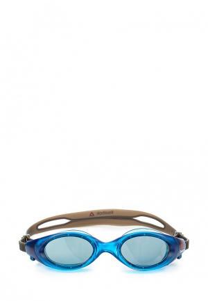 Очки для плавания Reebok. Цвет: синий